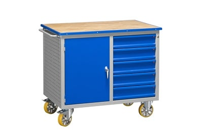 Mobile Workbench HD 500 5 Drawers 1 Door 1140x740x800 mm