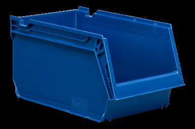 Plastback Blå 4L