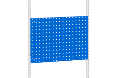 Perforated Panel 666x480 mm Blue