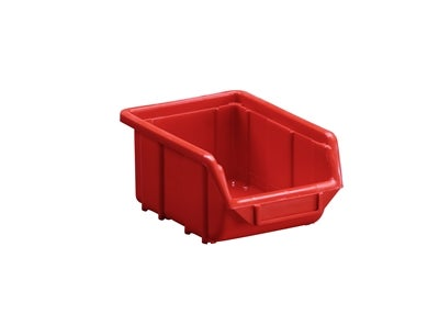 Plastic Bin 110x160x80 mm Red 1 l