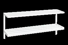 Hatt-/Skohylla 990 mm Vit