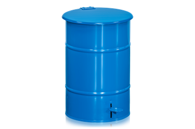 Refuse Bin 30 l including Pedal Blue