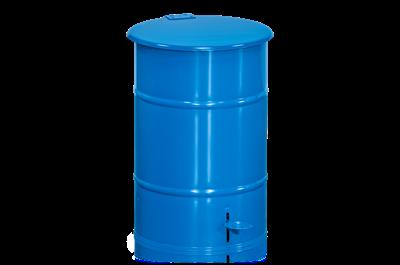 Abfallbehälter 30 l mit Fußpedal Blau