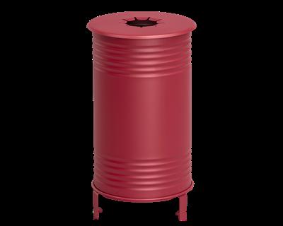 Avfallsbehållare Tin, Pant, Röd