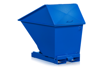 Tilting Container 600 l including High Lid (750 l)